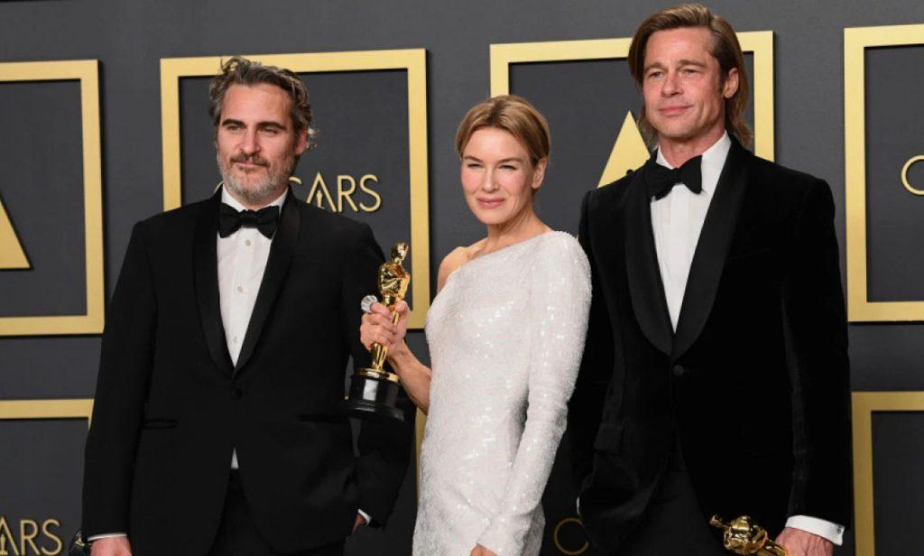 Tras una larga espera, finalmente Brad Pitt pudo alzar un Oscar por su labor actoral. Un momento sumamente emotivo para el galán.