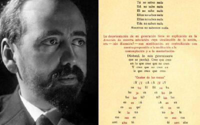 """OLIVERIO GIRONDO Y SU SINTAXIS """"DESORDENADA"""""""